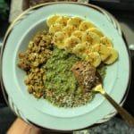 easy vegan recipe ideas matcha oatmeal