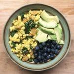 easy vegan recipe ideas tofu scramble