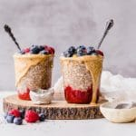 high protein breakfast ideas chia pudding