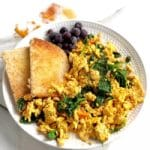 high protein breakfast ideas southwest scramble