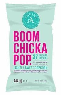 Boom Chicka Pop Lightly Sweet popcorn