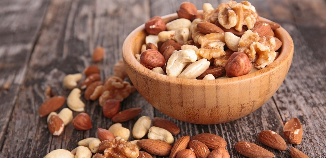 Easy Dorm Room Snacks Nuts